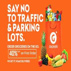 Grofers Offers, Coupons & Promo code: Upto 90% OFF + Extra Rs.250 Cashback - Feb 2020