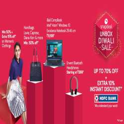 Snapdeal Promo code & Offers : Upto 80% OFF + Extra 10% Cashback on Mobile