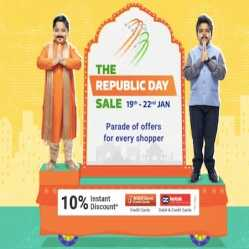 Flipkart Republic Day Sale 19th-22nd Jan 2021: Flat 80% Off + Extra ICICI Bank & Kotak Bank on Mobile Offers