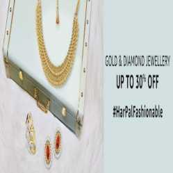 Amazon Jewellery Offers: Upto 30% OFF + Extra 10% Via Amazon Pay Cashback on Gold & Diamond Jewellery