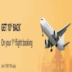 Amazon Flight Booking Offers: Flight Tickets Starting @ Rs 999 + Extra 10% cashback upto Rs.1500