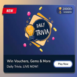 Flipkart Daily Trivia Quiz Answer Today 17th January 2021: Win Vouchers, Super Coins