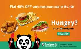 Foodpanda Coupons & Offers: Flat 40% OFF on First Order Jan 2020