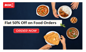 Box8 Coupons & Offers: Flat 25% OFF on all Order + 10% Extra Off- Dec 2019