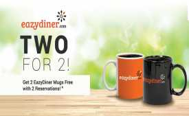EazyDiner Coupons & Referral Code: Flat Rs.500 OFF on First Order - Dec 2019