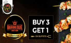 Barbeque Nation Promo codes & Offers: Unlimited Buffet Starting @ Rs.499 Dec 2019