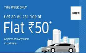 Uber Promo Codes, Coupons & Offers: FREE Ride + Flat 50% OFF on first 5 Rides - Jan 2020