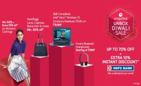 Snapdeal Promo code & Offers : Upto 80% OFF + Extra 10% Cashback on Mobile - March 2020
