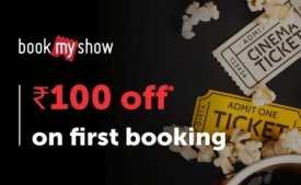 BookMyShow Coupons & Offers: Buy 1 Get 1 FREE Movie Tickets + Extra 15% Cashback - March 2020