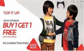 Brand Factory Dark Hour Sale Offers: Flat 60% Off on Shopping | 8th Jan 9AM To 9PM 2020