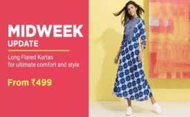 Get 80% OFF on Clothing, Footwear and Fashion Products + Extra 10% on Cards