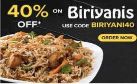 Freshmenu Coupons & Offers: Flat 40% OFF on all orders + 10% cashback