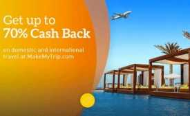 MakeMyTrip Coupons & Offers: Flat Rs. 1000 OFF on Flight Ticket, Hotel Booking - January 2020