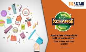Big Bazaar The Great Exchange Offer 2020 from 18th Feb To 25th March 2020