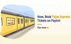 Paytm Train Ticket Offer Jan 2020: Upto 100% cashback on Railway e-Ticket booking from IRCTC