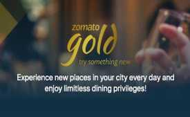 Zomato Gold Membership Offer: Flat Rs.1000 Cashback on 12 Month Membership