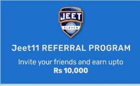 Jeet11 Referral Code 2020: Rs 30 Sign Up + Rs 20 Bonus on Refer Download Jeet11 App