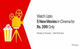 Carnival Cinemas Movie Offers: Buy Moviecard at Rs.99 on Wednesday + Rs.200 Instant Cashback