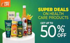 Medlife Coupons & Offers March 2020: Flat 70% OFF + Extra 10% Cashback on Online Medicines
