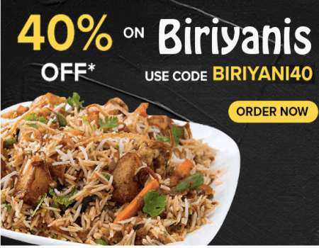 Freshmenu coupons & offers: Flat 40% OFF on all orders- Dec 2019
