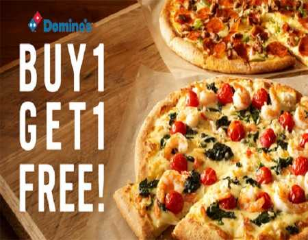 Dominos Coupon Code & Offers July 2020: Buy 1 Get 1 Free Regular Pizza