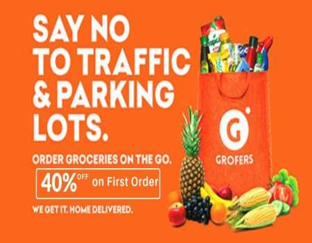 Grofers Offers, Coupons & Promo code December 2020: Upto 85% OFF + Extra 10% OFF