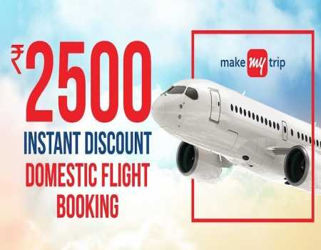 MakeMyTrip Flight Coupons & Offers April 2021: Flat Rs.1500 Cashback Today on Domestic Flight