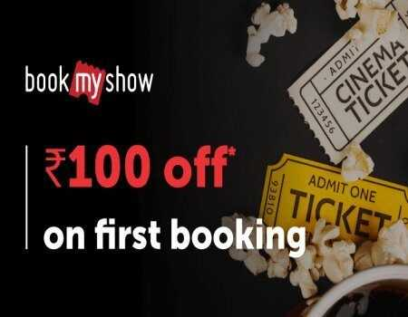 BookMyShow Coupons & Offers April 2020: Buy 1 Get 1 FREE Movie Tickets