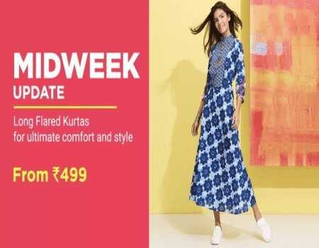 Upto 80% OFF on Footwear and Fashion Products + 10% Instant Discount on Cards