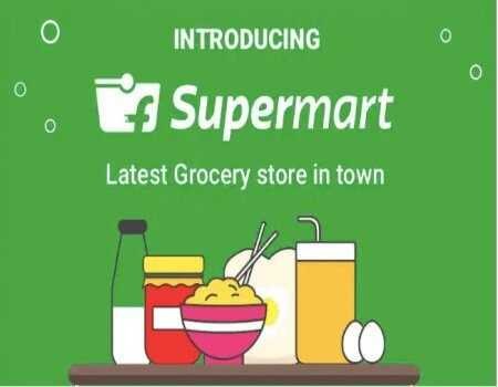 Flipkart Supermart Offers Today: Buy 1 Get 1 FREE on Grocery + Extra 20% Discount