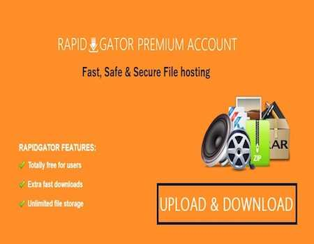 Rapidgator Coupons & Offers February 2021: Flat 50% OFF on Premium Account