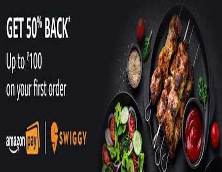Amazon Pay Food Offers: 50% Cashback On Dominos, Box8, Freshmenu, Swiggy Using Amazon Pay