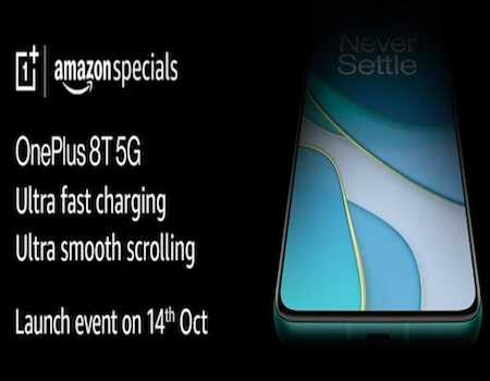 OnePlus 8T Amazon Buy Online: Launch Date @14th Oct, Specification, Price, Sale Date