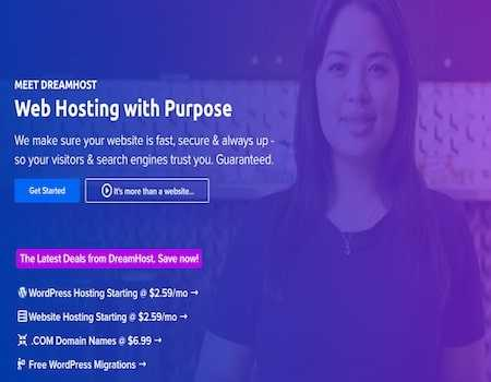 DreamHost India Coupons & Offers June 2021: 70% OFF on Shared Web Hosting, VPS Hosting