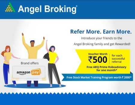 Angel broking Referral Code September 2021: Use ZcCkkD for FREE Rs 500 in Bank Account