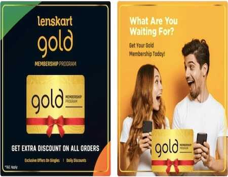 Lenskart Gold Free Membership Coupons: Gold membership for 3 months when you pay using Paytm